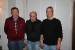 Eckhard Zirbes, Helmut Stork und Dirk Rahmeier